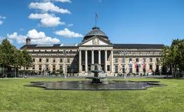 Famous Kurhaus  in Wiesbaden Royalty Free Stock Image