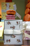 The famous Ladurée Macaroons store in Paris  Royalty Free Stock Photos