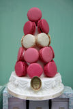 The famous Ladurée Macaroons store in Paris Royalty Free Stock Photography