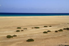 The famous lagoon in Risco El Paso at Playas de Sotavento, Fuert. Eventura, Canary Islands, Spain stock photos