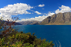 Famous Lake Hawea Stock Image