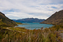 Famous Lake Hawea Stock Photos
