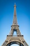 Famous landark - Eiffel tower in Paris France Stock Photos
