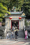 Famous landmark ama chinese temple entrance in macao macau Stock Photos