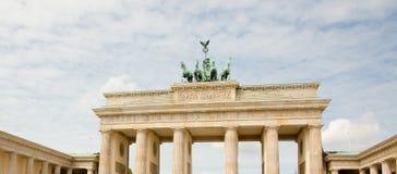 The Famous Landmark Brandenburg Gate In Berlin Stock Photos