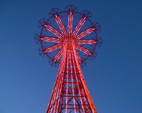 Famous landmark of Brooklyn's Coney Island Stock Photo