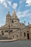 Famous landmark in Budapest - Fisherman's Bastion on Buda Hill. Stock Photography