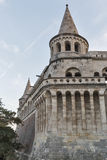 Famous landmark in Budapest - Fisherman's Bastion on Buda Hill. Royalty Free Stock Photography