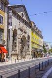 Famous landmark in the city of Lisbon called Portal de nossa senhora - LISBON - PORTUGAL - JUNE 17, 2017 Royalty Free Stock Photography