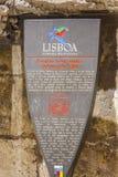 Famous landmark in the city of Lisbon called Portal de nossa senhora - LISBON - PORTUGAL - JUNE 17, 2017 Stock Images