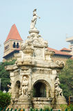 Famous landmark of Mumbai (Bombay) - Flora fountain,India Royalty Free Stock Image