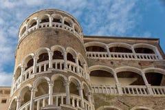 Famous landmark Staircase Palazzo Contarini del Bovolo in Venice Stock Photography