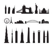 Famous landmarks cityscape Stock Photo