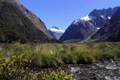 Famous landscape ,fiordland national park Stock Photo