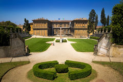 Famous landscape in Firenze (Florence). Italy royalty free stock photos