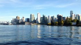 Famous landscape in the Stanley park. In Vancouver BC Canada stock footage