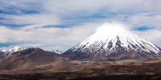Mt Ngauruhoe Landscape Stock Photography