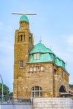Famous Landungsbruecken in Hamburg. Part of the famous Landungsbruecken in Hamburg royalty free stock image
