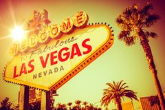 Famous Las Vegas Nevada Royalty Free Stock Image