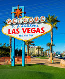 Famous Las Vegas sign Stock Photo