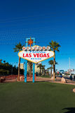 Famous Las Vegas sign Royalty Free Stock Photography