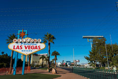 Famous Las Vegas sign Stock Photography