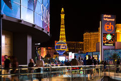 Famous Las Vegas Strip casinos in Las Vegas, USA Stock Image