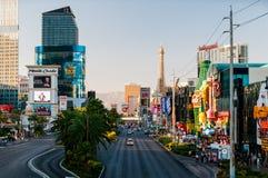 Famous Las Vegas Strip Stock Photography