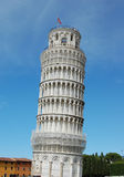 The famous leaning tower in Pisa. Stock Image