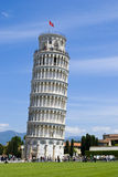 The famous leaning tower in Pisa Royalty Free Stock Image