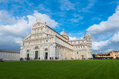 Famous leaning tower of Pisa Stock Images