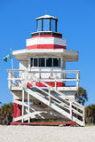 Famous lifeguard house Royalty Free Stock Photography