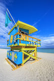 Famous lifeguard house Stock Photography