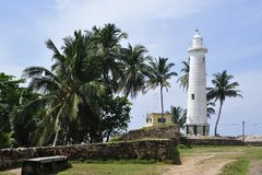 The famous light house in Galler Stock Images