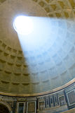 The famous light ray in Rome Pantheon Stock Photo