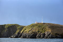 Famous lighthouse at Cape Horn royalty free stock image