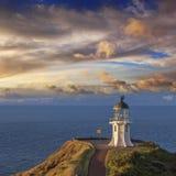 Cape Reinga Lighthouse Northland New Zealand royalty free stock image