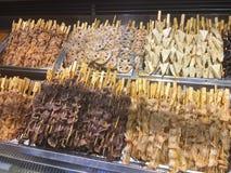 A local snack in Chongqing called BOBOJI stock photo