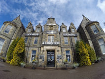 The famous Loch Ness exhibition Centre Scotland 21.05.2016 United Kingdom Royalty Free Stock Photography