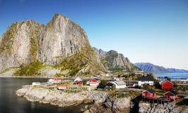 Famous Lofoten, Norway Landscape, Nordland Royalty Free Stock Photo