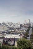 Famous Lombard Street on Hills in San-Francisco in California, U Stock Photo