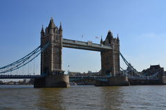 Famous London attraction, iconic Tower bridge Royalty Free Stock Photography