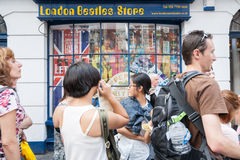 Famous London Beatles Store selling  Memoriabilia, UK, England, Stock Images