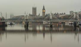 Famous London skyline Royalty Free Stock Image