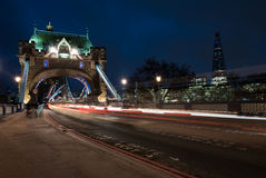 Famous London Tower Bridge Royalty Free Stock Photos