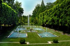 Famous Longwood Gardens Royalty Free Stock Image