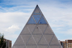 Famous Louvre Museum Pyramid Royalty Free Stock Image