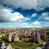 Famous Love valley in Cappadocia Stock Images