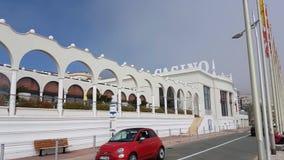 Famous Luxury Casino In Menton France stock video