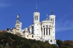 Famous Lyon basilica Royalty Free Stock Image